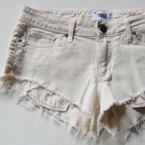 NWT Paige Premium Denim Catalina Cut Off Shorts